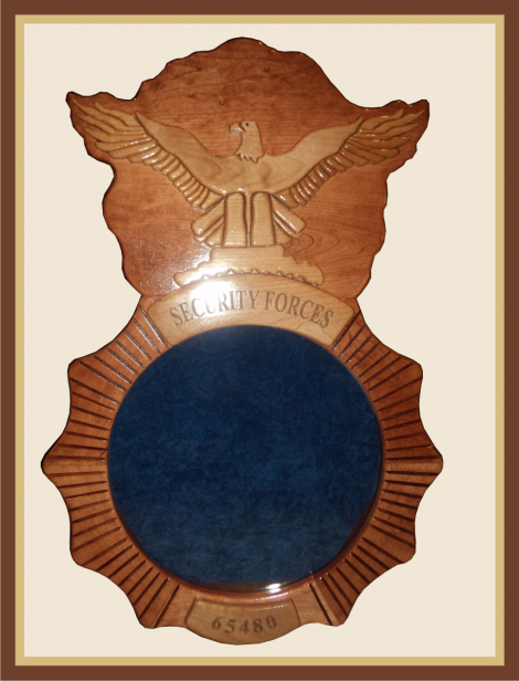 Cherry Air Force Security Forces Shadowbox