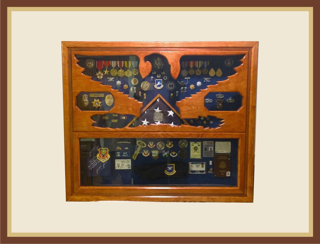 Usaf Symbol Shadowbox Let Us Add A Base