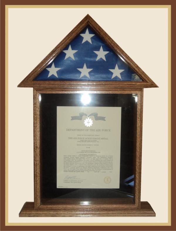 35 Certificate Display Box